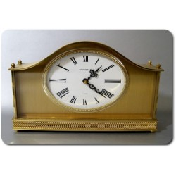Masywny mosiężny zegar