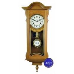 Zegar wiszący mechaniczny dąb