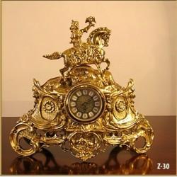 Zegar mosiężny 30