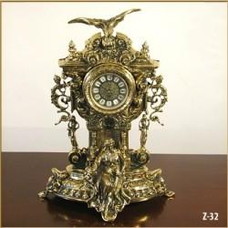 Zegar mosiężny 32