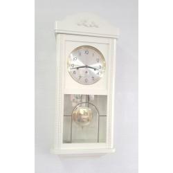 zegar biały wahadłowy...